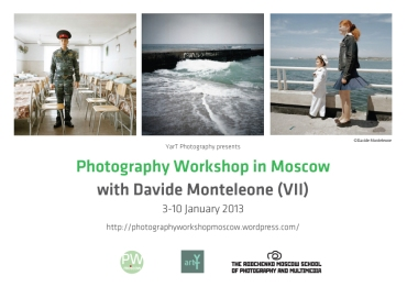Workshop Moscow Davide Monteleone 2013
